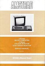 AMSTRAD CPC464 CTM640 GT64 Service Manual * CDROM * PDF