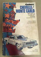 New listing Chilton's Chevelle 64-75 Monte Carlo 70-75 Repair Tune Up Guide Second Ed Book