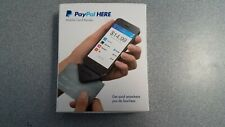 Paypal HERE Mobile Credit Card Reader/Swiper for iPhone and Android - Black NEW