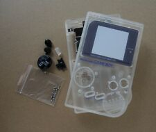Clear White Crystal Full Housing Shell for Nintendo For Gameboy Classic DMG-01
