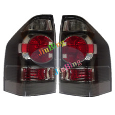 2Pc For Mitsubishi Pajero V73W V77W 2008 Rear Black Tail Lamp Light Brake Signal