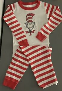 Hanna Andersson Dr. Seuss Cat In The Hat Pajamas