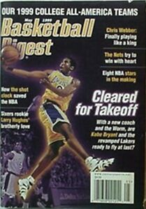 1999 BASKETBALL DIGEST (KOBE BRYANT - LAKERS CVR