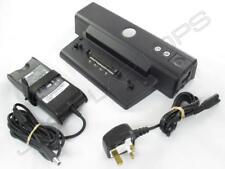 Dell Latitude D800 D810 D820 D830 PR01X Docking Station inc Power Supply Adapter