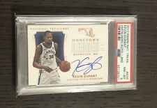 2017 National Treasures KEVIN DURANT Hometown Heroes/25 Auto Rockville, MD PSA 8