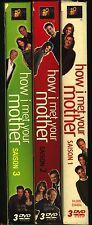 How I met your mother, 9 DVD, saisons 1,2,3