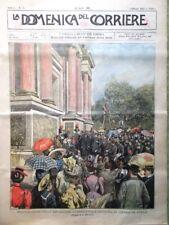 La Domenica del Corriere 30 Aprile 1899 Esposizione di Venezia Sovrani Sardegna