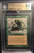 Survival Of The Fittest - BGS 9.5 GEM MINT - Exodus- MTG - Vintage Reserved List