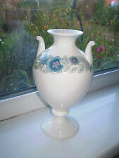 Wedgwood Clementine Urn Vase 22 cm Tall 1st Quality Bone China Blue Floral