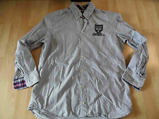 Gaastra bonita camisa de rayas azul blanco talla L mercancía nueva 516
