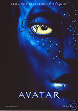 AVATAR AUTOGRAPH SIGNED PP PHOTO POSTER