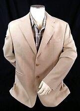 Lauren by Ralph Lauren Men's Blazer Size 42 R Silk and Wool Tan