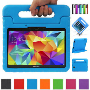 Kids Handle Shockproof Safe EVA Foam Stand Case Cover For Samsung Galaxy Tablet
