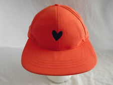 Love Your Melon Baseball Cap Dad Hat Strapback Melon Orange Embroidered Heart