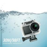Sports Camera Waterproof Housing Case Shell Diving 45M For DJI Osmo Action Cam