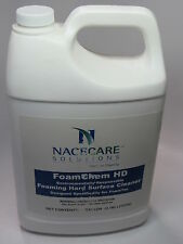 4/Pack NaceCare 8020950 FoamChem Foaming Hard Surface Restroom Cleaner 1 Gallon