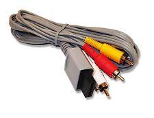 Nintendo Wii WiiU Wii U Composite AV Audio Video Cable Lead vendedor del Reino Unido