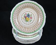 Ridgways Royal Semi Porcelain Andover Bread Dessert Plates 1136 Set of 8
