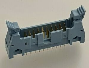 20 PIN SOCKET BOX 2.54mm PITCH EJECTOR LATCH HEADER STRAIGHT CONNECTOR DC2-20P