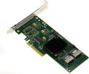RAID Controller PCI-Express LSI SAS 9211-8i LSI00194 Neuware OVP RAID 0/1/1E/10