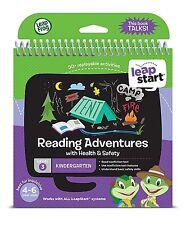 Leapfrog leapstart Preescolar Actividad Libro Lectura aventuras con salud y seguridad