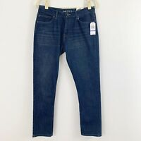 NEW Nautica Skinny Stretch Blue Jeans Denim Size 18 Tapered Cotton Blend