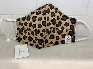 Authentic Vera Bradley LEOPARD Face Mask - Sold Out - RARE!!!