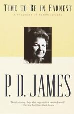 Time to Be in Earnest-A Fragment of Autobiography by P.D. James (2001 PB) HH1289