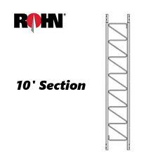 ROHN 25G 10' Steel Tower Section Main Ham Dish Antenna Genuine ROHN25G