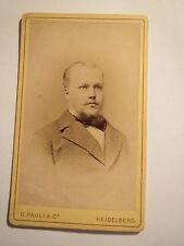 Heidelberg - H. Weller als Student im WS 1879 - CDV / Studentika