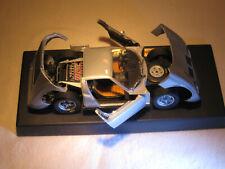 Lamborghini Miura Anson 1:18 metallisiert grau No. 30302-W , gebraucht , mit OVP