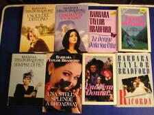 Lotto Blocco stock 11 libri romanzi tutti di BARBARA TAYLOR BRADFORD
