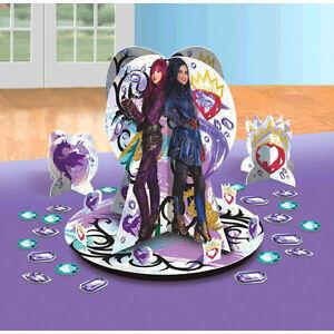 Descendants 2 1x Table Decorating Kit 23 Piece Centerpiece Party Supplies