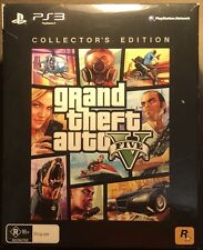 GRAND THEFT AUTO 5 GTA V PS3 Playstation 3 - Collectors Edition.