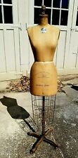 Designers' Personal Wolf Dress Form 50+Yrs Nyc Garment Center 1959/Size5 Vintage