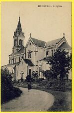 cpa 36 - HEUGNES (Indre) L' ÉGLISE SAINT MARTIN Photo Stel
