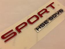 NEW 2014 GENUINE RANGE ROVER SPORT HSE SDV6 BADGE*REAR BOOT TAILGATE BADGE