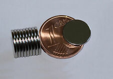 10 Stück Neodym Rundmagnete  10 x 1 mm  Powermagnet zum schalten von Reedkontakt