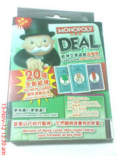 Monopoly deal 20 new card special pack playing card Hong kong edition