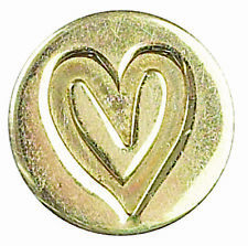 LOVE HEART DECORATIVE SEALING WAX COIN SEAL FOR BLANK HANDLE VALENTINE WEDDING