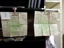 2 x alte Landkarte Stadtplan Bolzano Gries 8