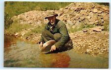 *Alaskan Sourdough Gold Panner Oldtimer Walked Trail of 98 Alaska Postcard C58