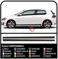 VW GOLF V-VII GTI SPORT STRISCE GTI fasce laterali adesive Strisce Adesivi Set