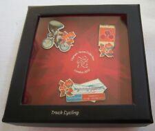 Orig. 3er Pin Set  Olympische Spiele LONDON 2012 - RADSPORT Bahn / in Box !! TOP