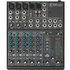 Mackie 802-VLZ4 8-channel Ultra Compact Mixer w/ Onyx Mic Preamps 802VLZ4 NEW