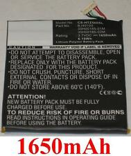 Batterie 1650mAh type 35H00185-01M 35H00185-02M BJ40100 Pour HTC One S