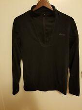 asics Mens  1/4 Zip Long Sleeve Running  Pullover sz small