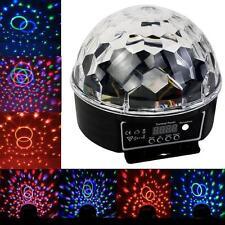 LED RGB 6 LED DISCOTECA DJ Stage Lighting LED RGB Crystal MAGIC BALL EFFETTO LUCE