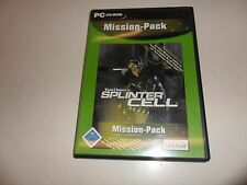 PC  Splinter Cell - Tom Clancy: Mission Pack
