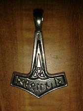 THOR hammer, celtico, germaniche, vichinghi, CIONDOLO, Amuleto, NUOVO